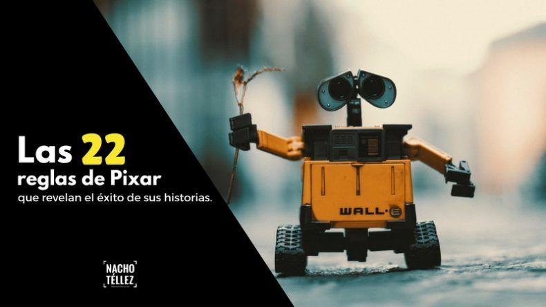 Las 22 reglas de Pixar que revelan el éxito de sus historias (y sus películas)