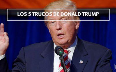 5 trucos de oratoria que usa Trump en su discurso para mover masas