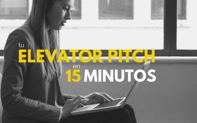 Cómo hacer el mejor elevator pitch en 15 minutos
